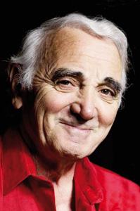 Charles Aznavour en visite à Dakhla