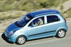 Chevrolet Spark : à la conquête de la ville