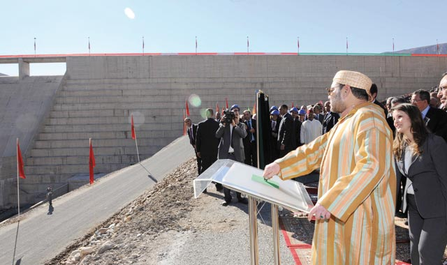 Inauguration royale du barrage «Abou El Abbas Essebti»