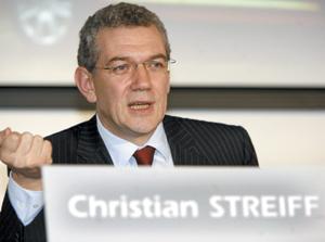 PSA : Christian Streiff prend ses fonctions de P-DG