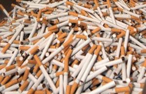 Oujda : Saisie de 52.360 paquets de cigarettes de contrebande
