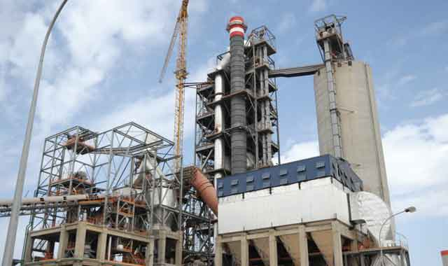 Ventes de ciment : l écart s amortit de 8% à fin septembre