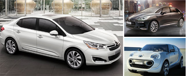 Citroën : Nouvelles résolutions pour 2013