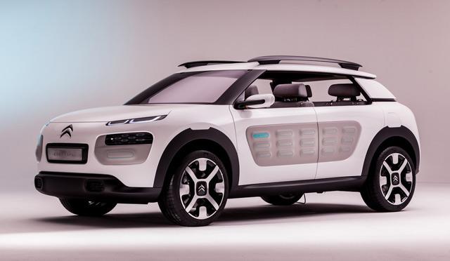 Automobile: Citroën dévoile son concept car Cactus