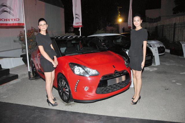 Sopriam : égérie «Croft» pour Citroën DS