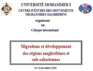 Oujda : Colloque international sur les migrations et le développement