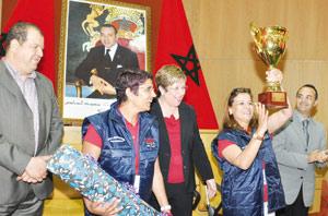 L'équipage Ilham Khay et Amina Horma remporte le titre