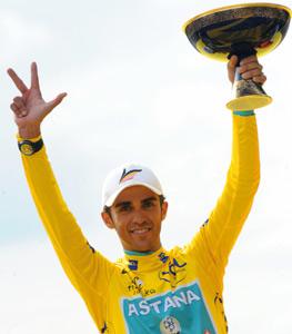 Tour de France : contador s'adjuge le titre