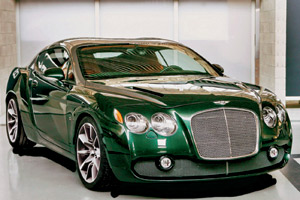 Le bolide : Bentley Continental GTZ par Zagato