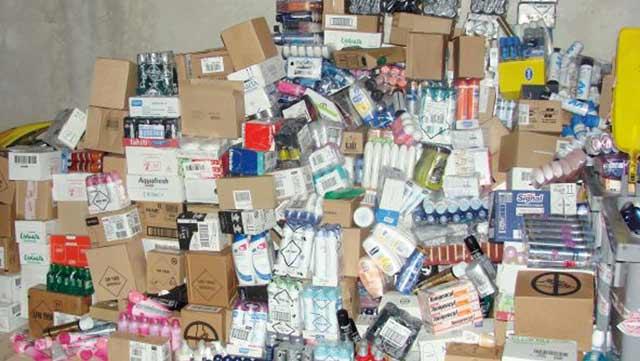 Parfums, shampoings, cosmétiques  de contrefaçon : Fini la pagaille !