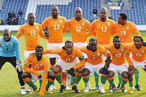 Groupe B : Côte d'Ivoire