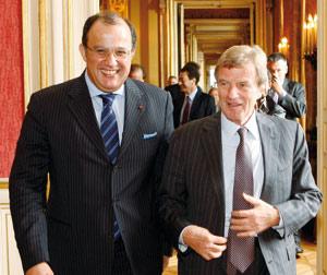 Bernard Kouchner : «Entre le Maroc et la France, il n'y a que de l'amitié et des projets»
