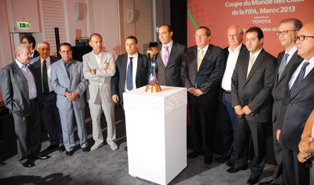 Mondial des clubs FIFA-2013 au Maroc: Résultats des 1ers tirages au sort.