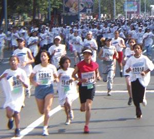 27 mille femmes courent pour le plaisir à Casablanca
