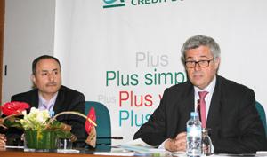 Résultats financiers 2010 : Crédit du Maroc réalise un résultat net de 363 MDH