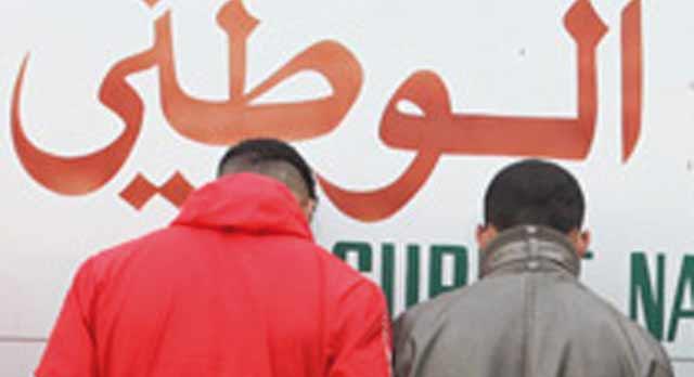 Casablanca : Arrestation d un duo qui a agressé  un commerçant à Attacharouk