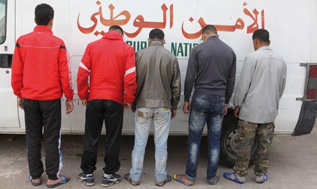 Casablanca : Quatre voleurs arrêtés