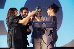 Le prix Hercule décerné à l'actrice Emma Suârez