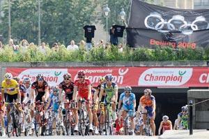Un parcours à suspense pour les cyclistes