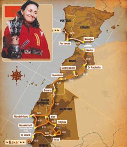 Rallye Dakar 2008 : Cinquante nationalités au Sahara