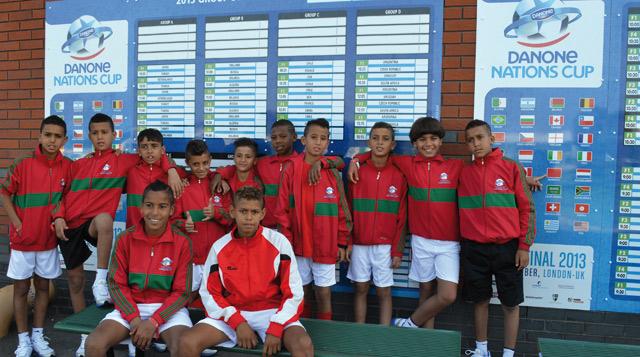 14ème édition de la Danone Nations Cup : Une 27ème place pour le Maroc mais un jeu de qualité