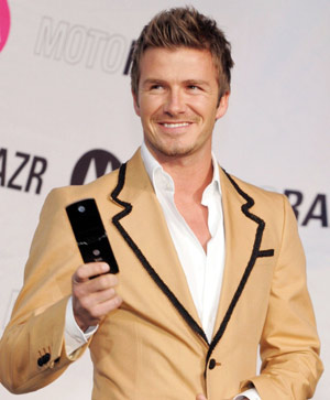 David Beckham s'engage contre les violences urbaines