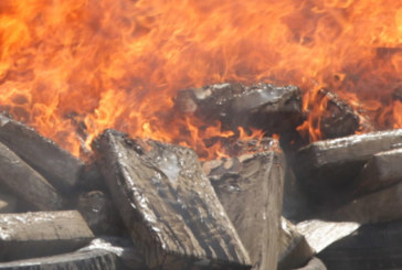 Tanger: Plus de 9 tonnes de drogue et de cigarettes de contrebande détruites