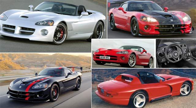 Il était une fois… Dodge Viper : A venomous car