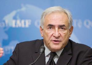 Dominique Strauss-Kahn s'alarme de la situation en Europe