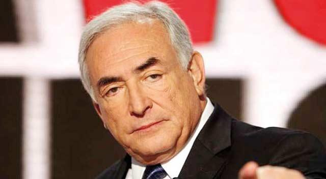 Strauss-Kahn et la «crise de l Euro»  en conférence à Marrakech