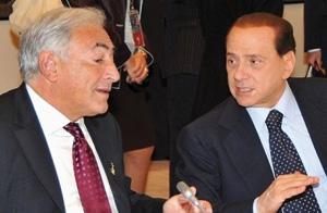 France : Affaire DSK et Rubygate : Faut-il parler de «Berluskahn»?