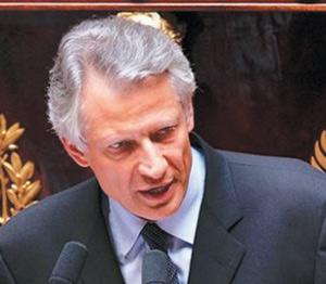 France : Dominique de Villepin, premier opposant à Nicolas Sarkozy