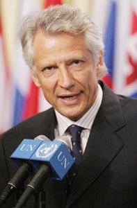 Dominique de Villepin donne de la voix à son opposition à Sarkozy