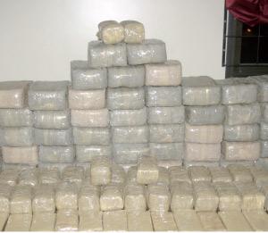 Saisie de 850 kg de kif et 80 kg de tabacs à Bouskoura