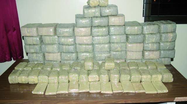Oujda : Saisie de 3.700 kilos de haschich et fuite des contrebandiers