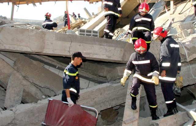 Effondrement de deux immeubles à Fès, sans faire de victimes