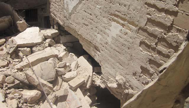Marrakech: une ancienne maison de la médina s'effondre