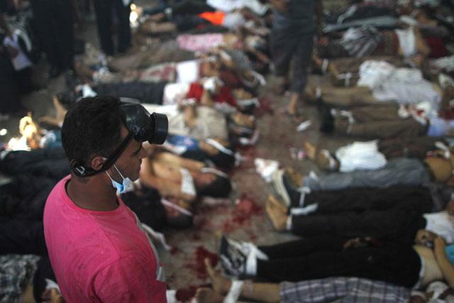 Plus de 460 morts dans les violences en Egypte
