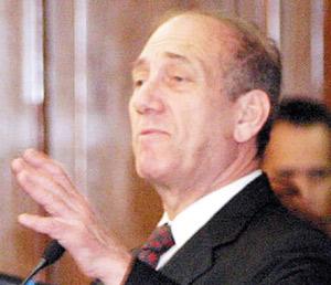 Ehoud Olmert va à Washington