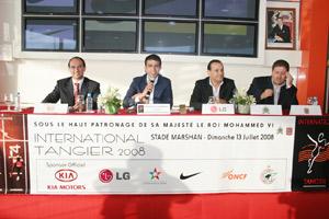 Tanger abrite un grand meeting d'athlétisme