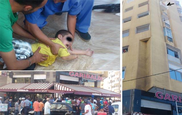 Casablanca  : Chute mortelle d'un enfant de 5 ans