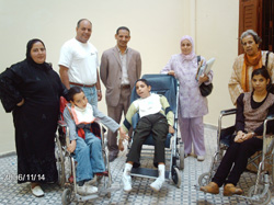 Des enfants handicapés en quête de scolarité