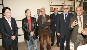 Don de livres au lycée des Sportifs de Aïn Sebaâ