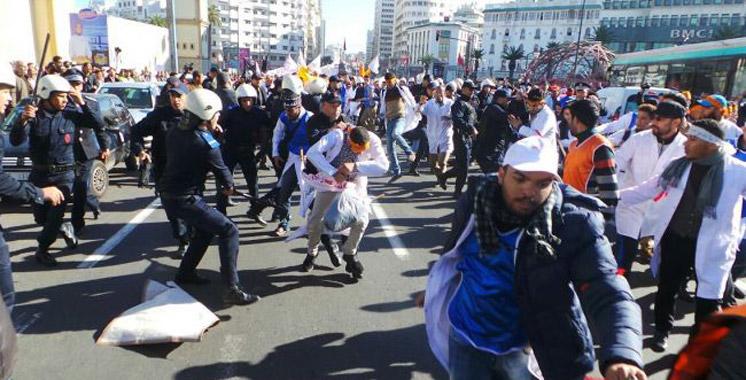 Enseignants stagiaires: Pourquoi les protestations ont été dispersées à Casablanca