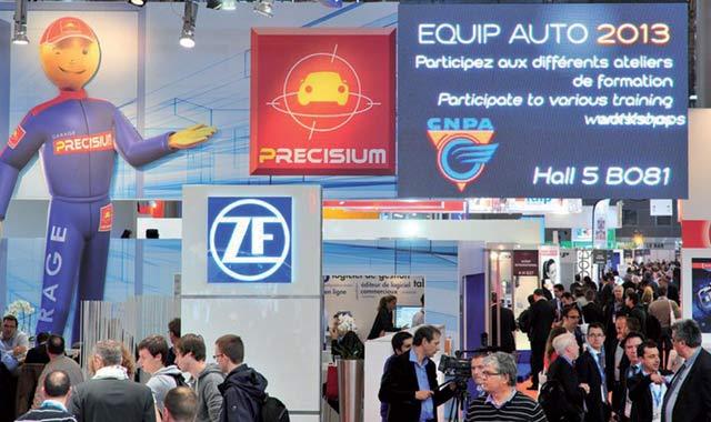 Salon Equip Auto Paris : Les marocains au top 10 des visiteurs