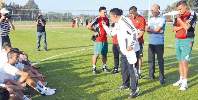 Maroc-Mozambique : Taoussi mise sur la carte des joueurs locaux