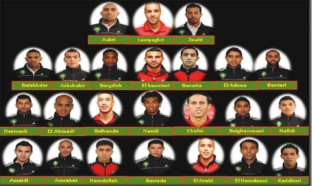 CAN-2013 : Rachid Taoussi dévoile sa liste  et son programme