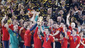 L'Espagne, championne du monde la moins prolifique en buts