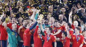 L'Espagne veut organiser le Mondial-2018