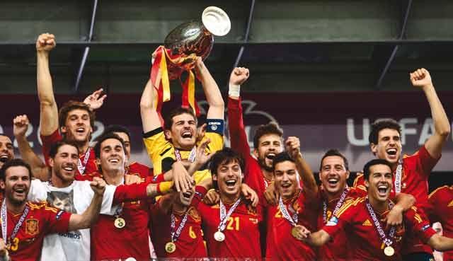 Finale de l Euro-2012 : L Espagne étrille l Italie  et conserve son titre
